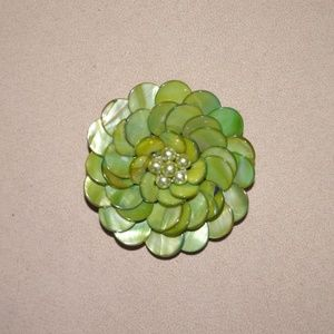 Vintage Flower Brooche